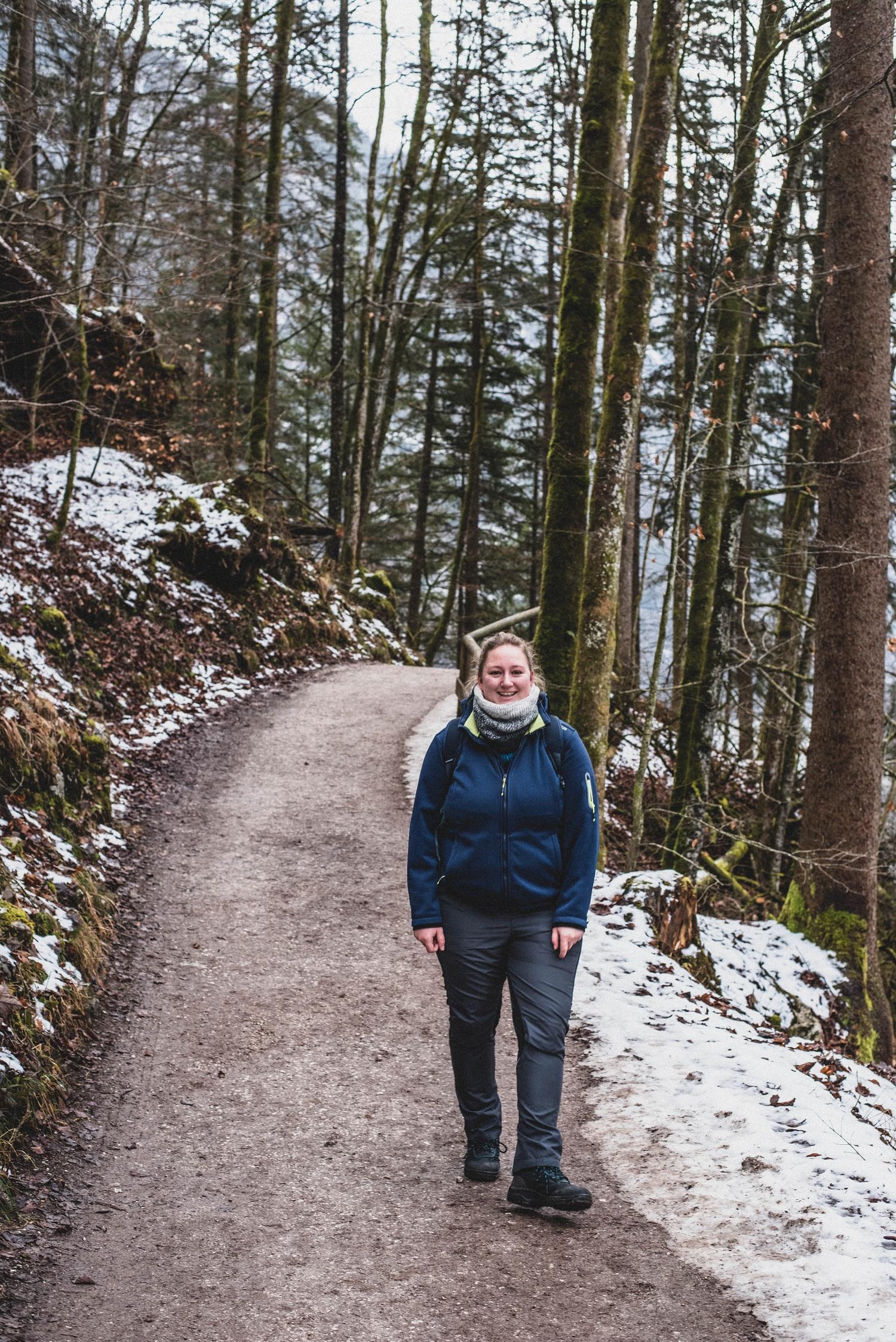 Aufnahme von mir beim Wandern am Königssee