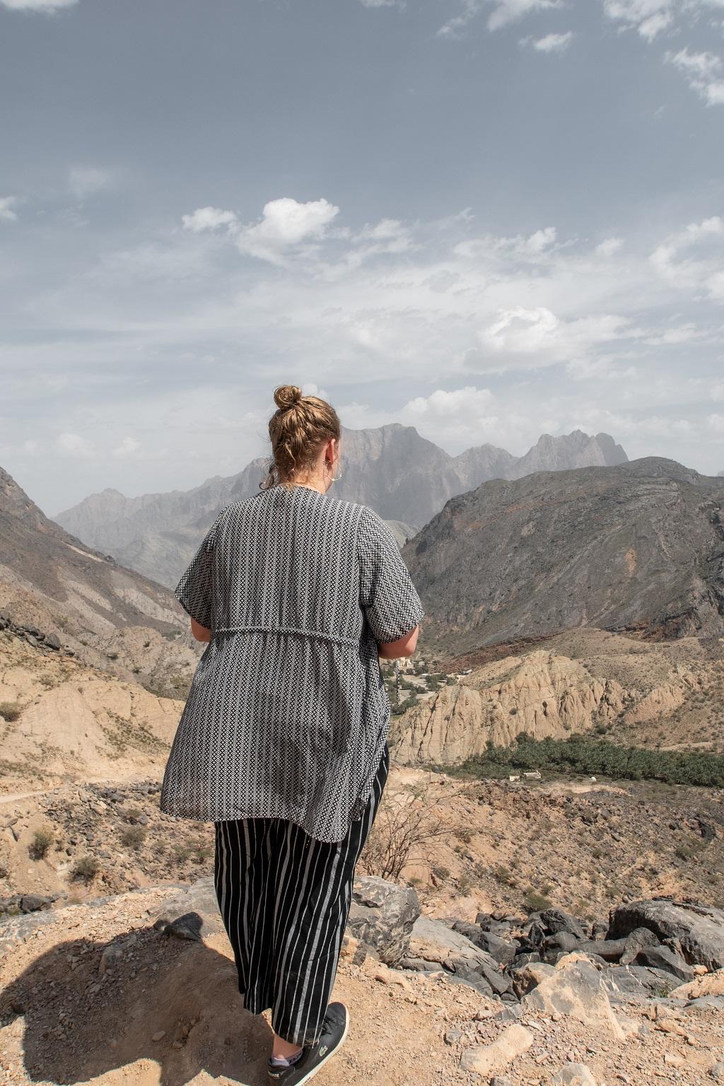 Aufnahme von mir im Oman an der Schlangenschlucht