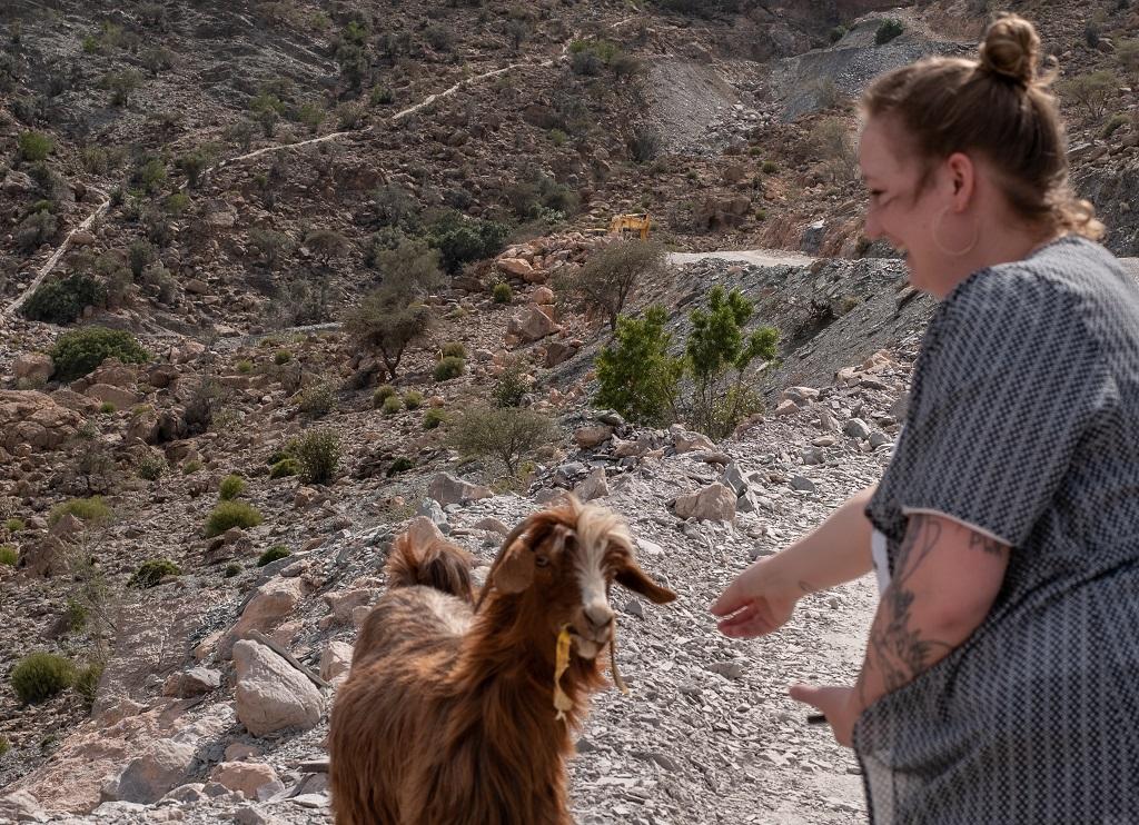 Ich und die Ziege