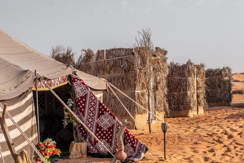 Zelte in der Wüste