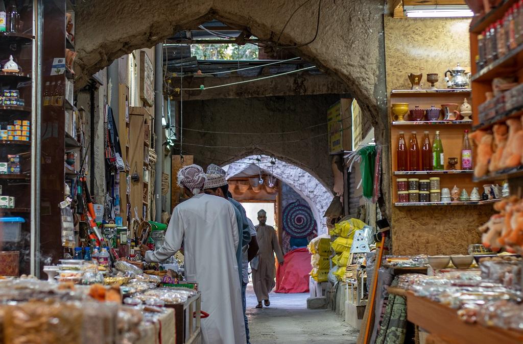 Gewürzmarkt im Oman
