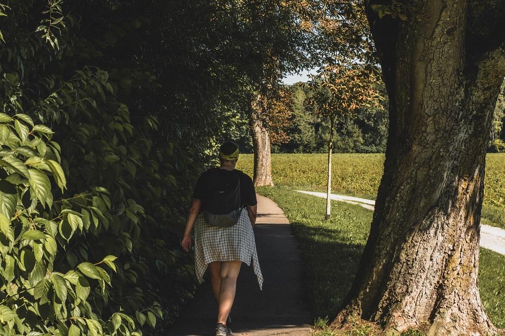 Wandern in Allee