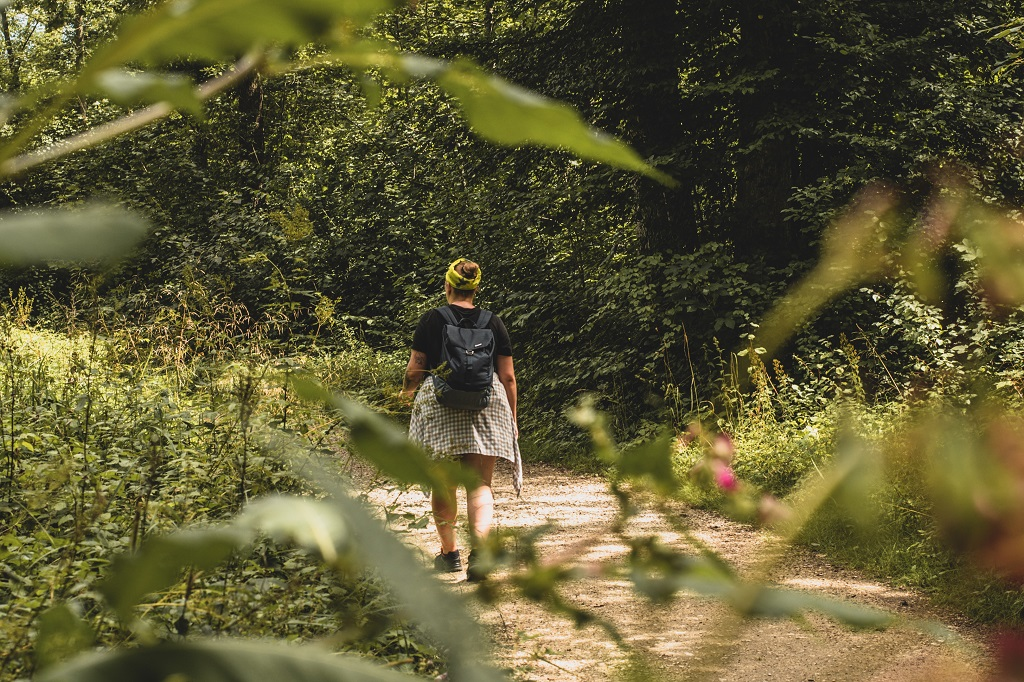 Aufnahme von mir beim Wandern