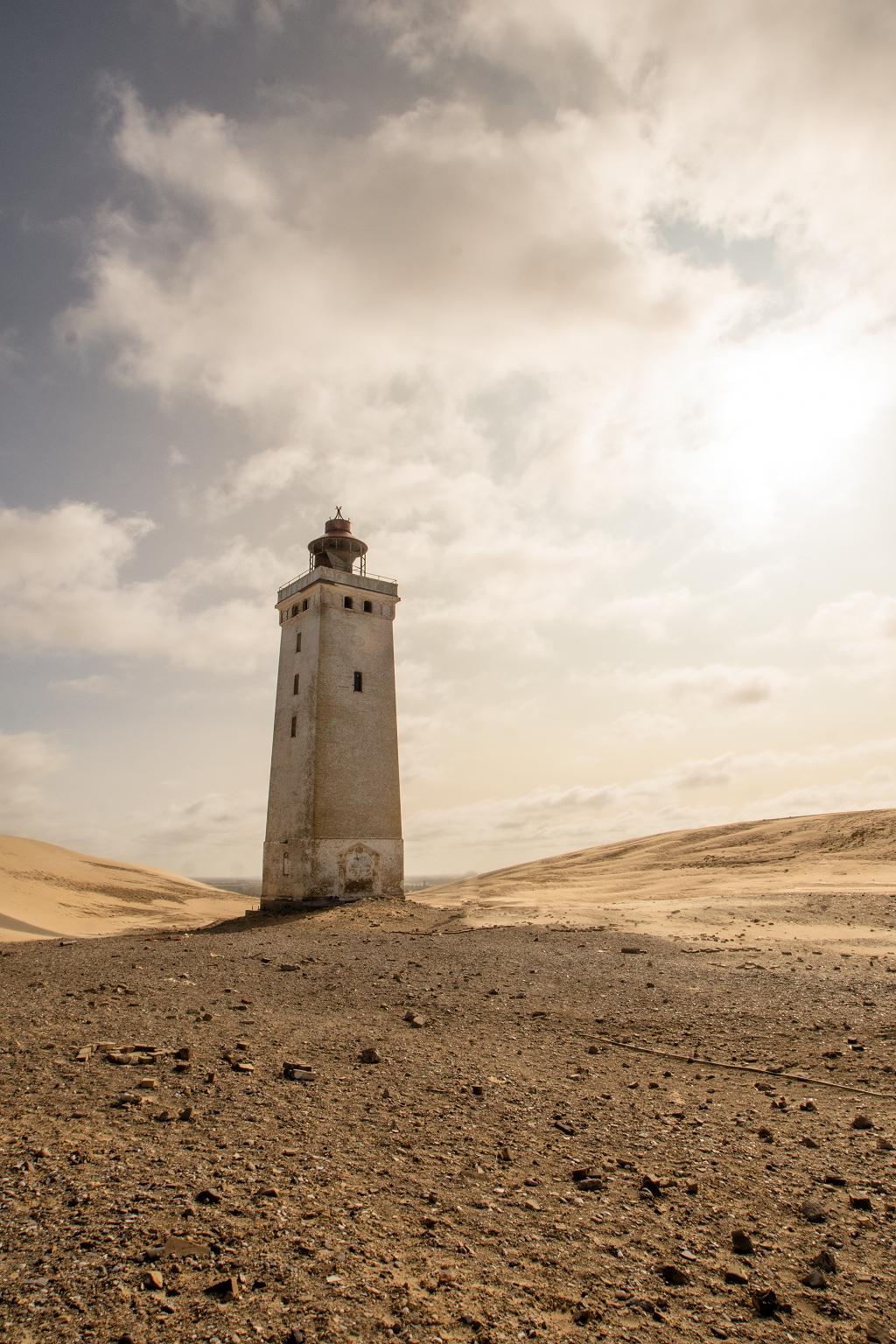 Leuchtturm im Sand