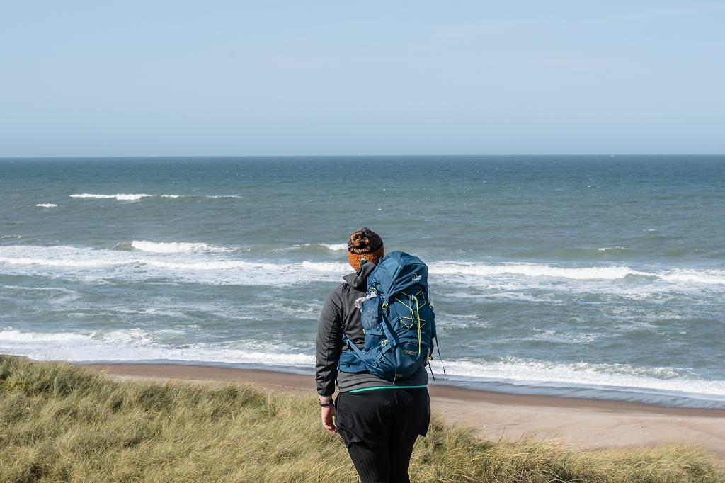 Aufnahme von mir vor dem Meer