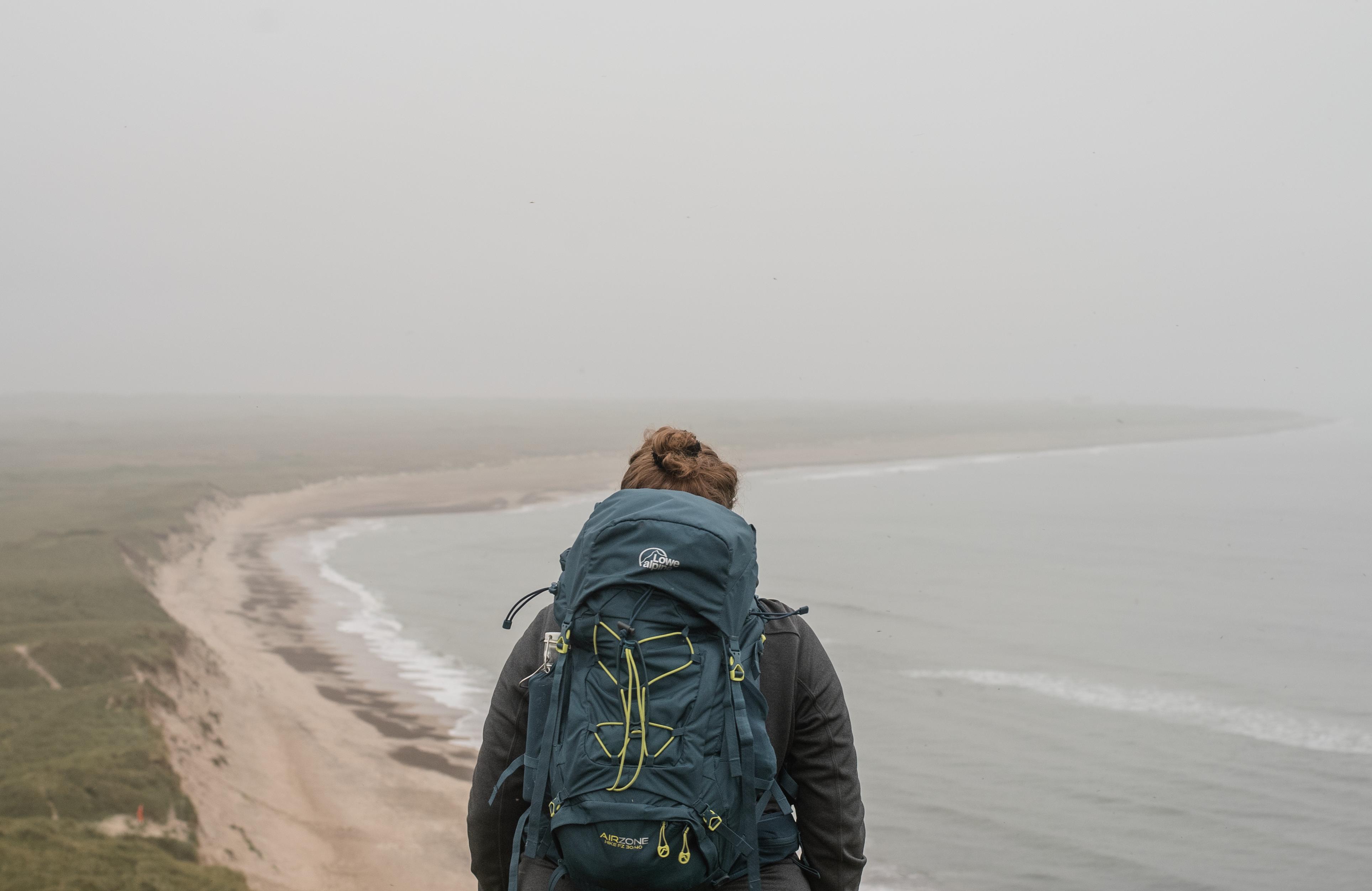 Blick vom Bulbjerg in Dänemark auf die Nordsee