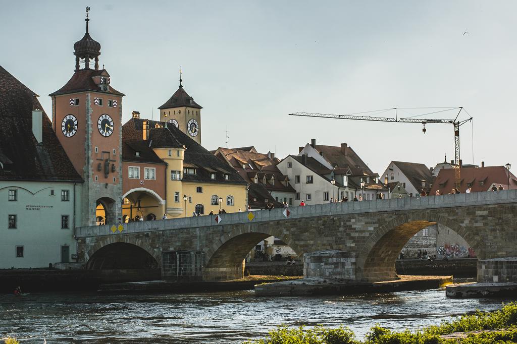 Regensburg und die Steinerne Brücke