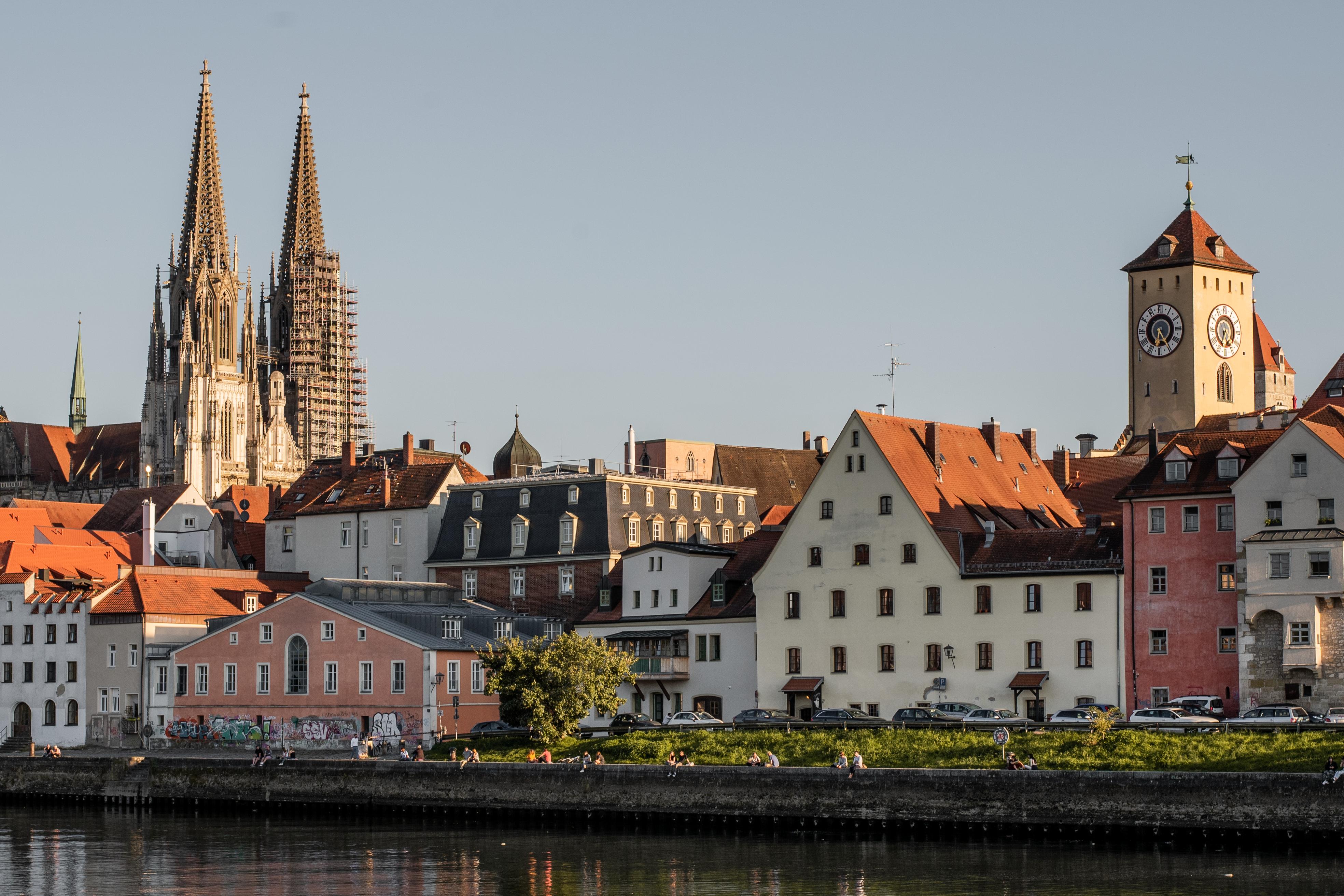 Regensburg und die Donau